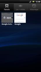 Sony Ericsson Xpéria Arc - Internet et connexion - Naviguer sur internet - Étape 8