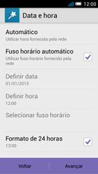 Alcatel POP C7 - Primeiros passos - Como ligar o telemóvel pela primeira vez -  8