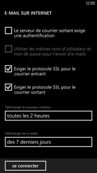 Nokia Lumia 1320 - E-mail - Configuration manuelle - Étape 17