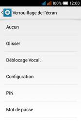 Alcatel OT-4015X Pop C1 - Sécuriser votre mobile - Activer le code de verrouillage - Étape 6
