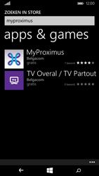 Nokia Lumia 830 - Applicaties - MyProximus - Stap 7