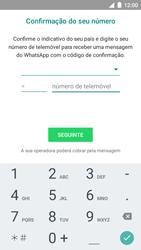 NOS NOVU II - Aplicações - Como configurar o WhatsApp -  13
