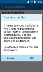Samsung G388F Galaxy Xcover 3 - Internet - Désactiver les données mobiles - Étape 7