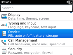 BlackBerry 9780 Bold - Settings - Configuration message received - Step 4
