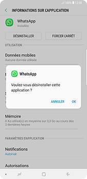 Samsung Galaxy Note 9 - Applications - Supprimer une application - Étape 7