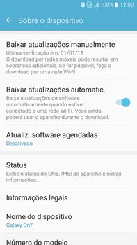 Samsung Galaxy On 7 - Primeiros passos - Como encontrar o número de IMEI do seu aparelho - Etapa 5