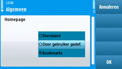 Nokia N97 - Internet - handmatig instellen - Stap 25