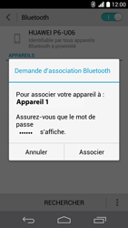 Huawei Ascend P6 LTE - Bluetooth - connexion Bluetooth - Étape 9