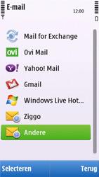 Nokia C6-00 - E-mail - e-mail instellen: POP3 - Stap 6