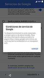 Sony Xperia XZ - Android Nougat - Primeros pasos - Activar el equipo - Paso 14