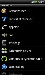 HTC A7272 Desire Z - Messagerie vocale - configuration manuelle - Étape 5