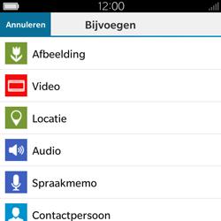 BlackBerry Classic - Mms - Hoe te versturen - Stap 9