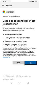 Huawei Mate 20 Pro - E-mail - e-mail instellen (outlook) - Stap 7