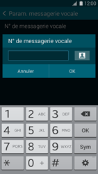 Samsung G800F Galaxy S5 Mini - Messagerie vocale - Configuration manuelle - Étape 7