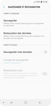 Samsung Galaxy S9 - Device maintenance - Back up - Étape 8