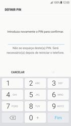 Samsung Galaxy S6 Edge - Android Nougat - Segurança - Como ativar o código de bloqueio do ecrã -  9