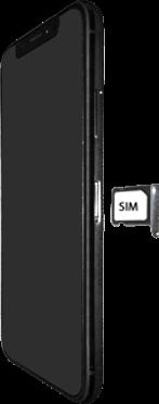 Apple iPhone X - Premiers pas - Insérer la carte SIM - Étape 5