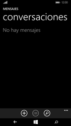 Microsoft Lumia 640 - Mensajería - Configurar el equipo para mensajes de texto - Paso 4