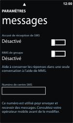 Nokia Lumia 800 - SMS - Configuration manuelle - Étape 5