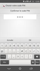Sony Xperia E4g - Sécuriser votre mobile - Activer le code de verrouillage - Étape 10