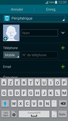 Samsung Galaxy Alpha - Contact, Appels, SMS/MMS - Ajouter un contact - Étape 7