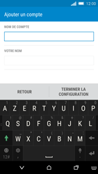 HTC One M8s - E-mail - Configuration manuelle - Étape 16