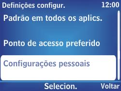 Nokia Asha 302 - Internet - Como configurar seu celular para navegar através de Vivo Internet - Etapa 5