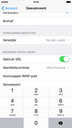 Apple iPhone 6 iOS 8 - E-mail - e-mail instellen: IMAP (aanbevolen) - Stap 25