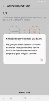 Samsung galaxy-note-9-sm-n960f - Contacten en data - Contacten kopiëren van toestel naar SIM - Stap 13