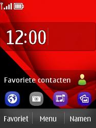Nokia Asha 300 - E-mail - e-mail instellen: POP3 - Stap 1
