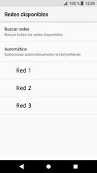 Sony Xperia XZ1 - Red - Seleccionar una red - Paso 9
