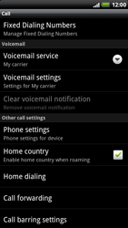 HTC X515m EVO 3D - Voicemail - Manual configuration - Step 5