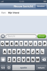 Apple iPhone 4 S met iOS 6 - MMS - afbeeldingen verzenden - Stap 6