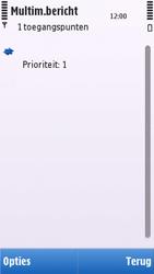 Nokia C5-03 - MMS - handmatig instellen - Stap 11