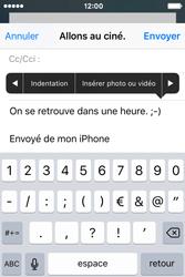 Apple iPhone 4 S iOS 9 - E-mail - Envoi d