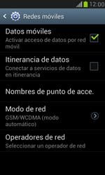 Samsung Galaxy S3 Mini - Internet - Activar o desactivar la conexión de datos - Paso 6