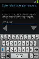 Samsung Galaxy Fame - Primeiros passos - Como ligar o telemóvel pela primeira vez -  10