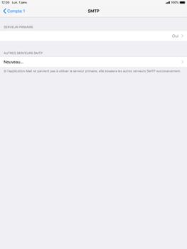 Apple iPad Air 2 - iOS 12 - E-mail - Configurer l