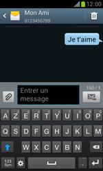 Samsung Galaxy Trend - Contact, Appels, SMS/MMS - Envoyer un SMS - Étape 11