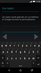 HTC One M8 - Applicaties - Account aanmaken - Stap 6
