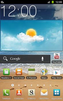 Samsung N7000 Galaxy Note met OS 4 ICS - Automatisch instellen - Automatisch Internet instellen - Stap 4