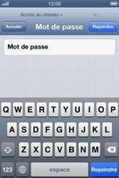 Apple iPhone 4 S - iOS 6 - Wifi - configuration manuelle - Étape 5