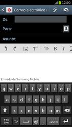 Samsung I9300 Galaxy S III - E-mail - Escribir y enviar un correo electrónico - Paso 5