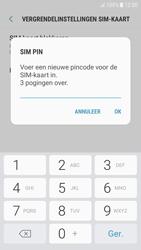 Samsung Galaxy J5 (2016) - Android Nougat - Beveiliging en ouderlijk toezicht - Hoe wijzig ik mijn SIM PIN-code - Stap 9