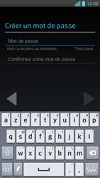LG Optimus F6 - Premiers pas - Créer un compte - Étape 12