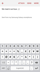 Samsung A5 (2016) - Email - Sending an email message - Step 10