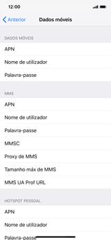 Apple iPhone X - iOS 12 - MMS - Como configurar MMS -  7
