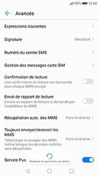 Huawei P10 Plus - SMS - Configuration manuelle - Étape 8