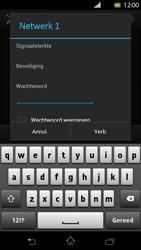 Sony LT30p Xperia T - Wifi - handmatig instellen - Stap 7