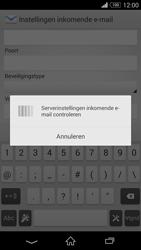 Sony D5803 Xperia Z3 Compact - E-mail - Account instellen (IMAP met SMTP-verificatie) - Stap 11